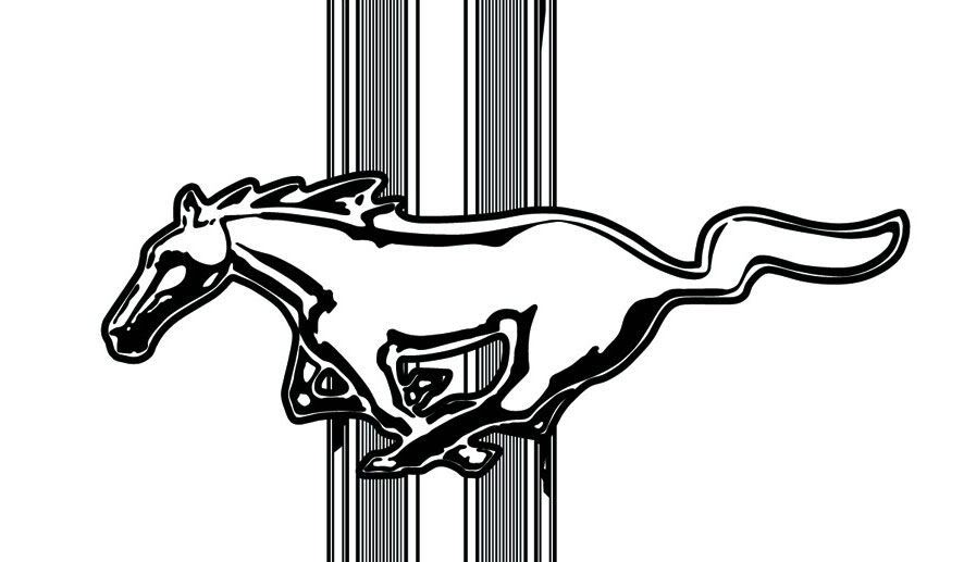 886x517 Logo Clipart Ford Mustang