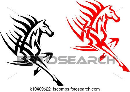 450x317 Stallion Clipart Vector Graphics. 6,578 Stallion Eps Clip Art