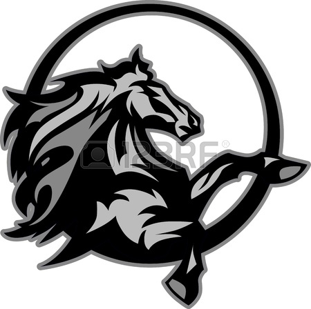 450x448 71 Mustangs Stock Vector Illustration And Royalty Free Mustangs