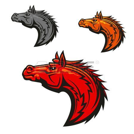 Mustang Mascot Clipart