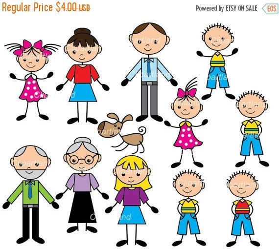 My Family Clipart