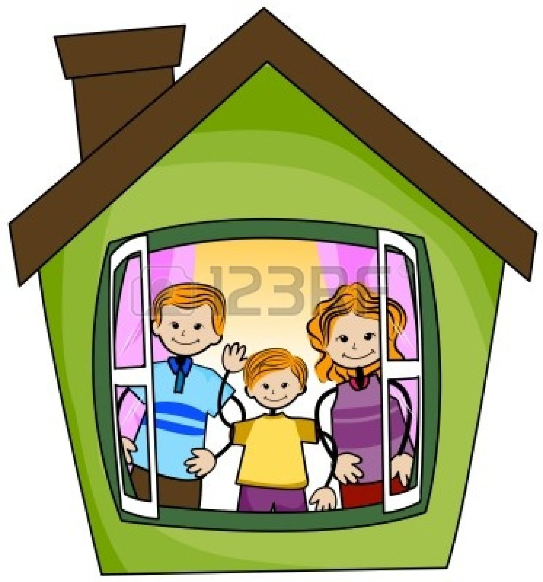 1119x1200 Hosue Clipart Home And Family