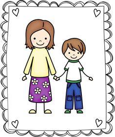 236x282 Kids Clipart My Family Clip Art Set 1 By Inknlittlethings Art