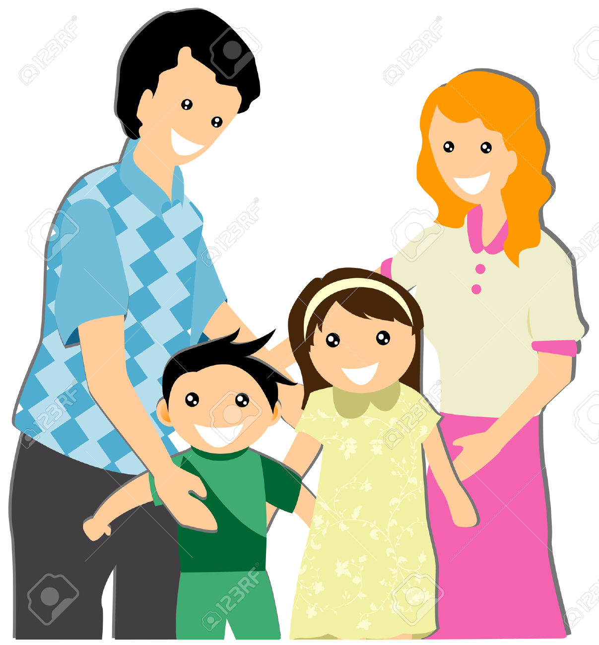 1207x1300 My Family Illustration Free Cliparts Vectors And Stock