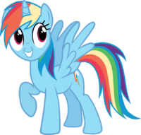 200x191 My Little Pony Clipart Free