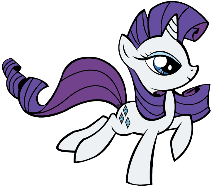 730x641 My Little Pony Clipart Rarity