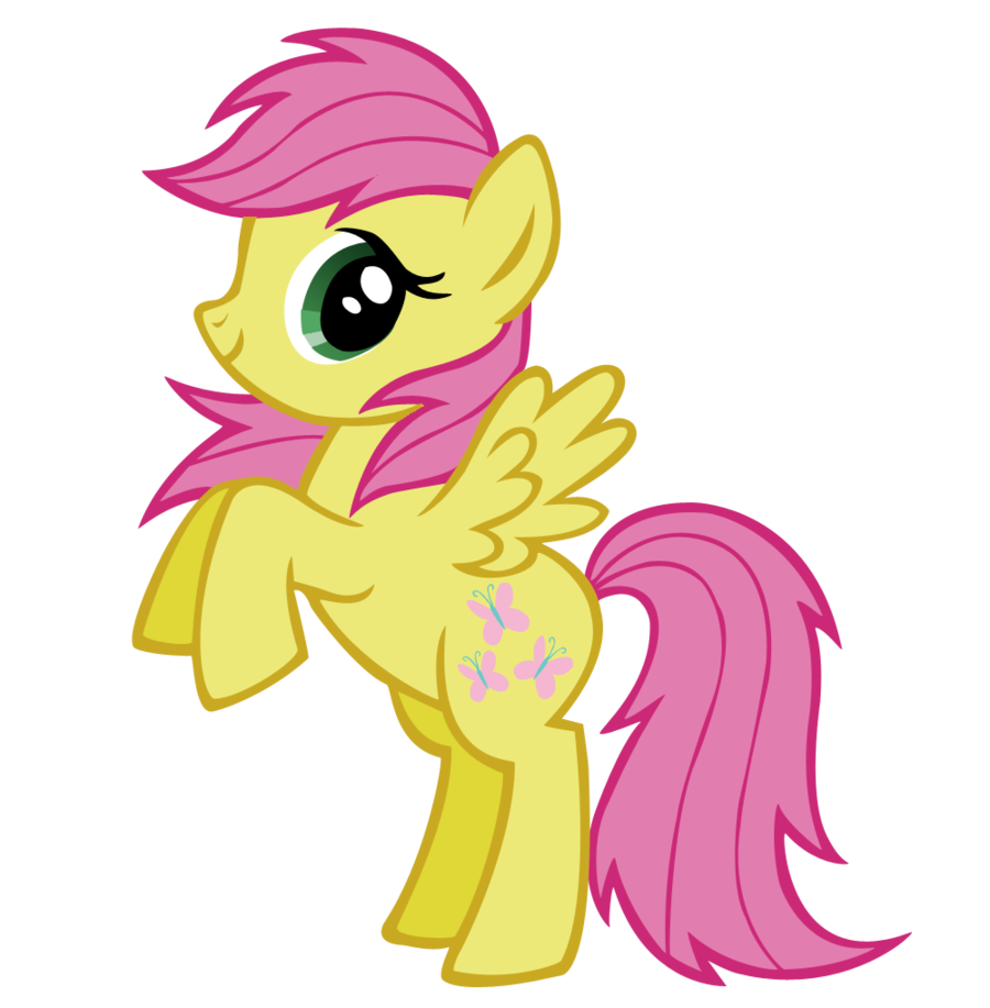 900x917 My Little Pony Clipart Yellow