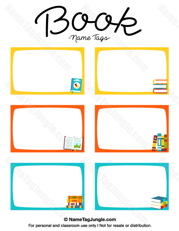 Crayon Labels Template Images - Template Design Ideas