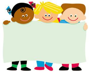 300x245 Label Badges Trend World Kids Faces Design Name Badges Or Labels