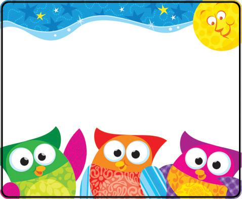 478x392 Printable Owl Name Tags Name Tags View Larger Owl