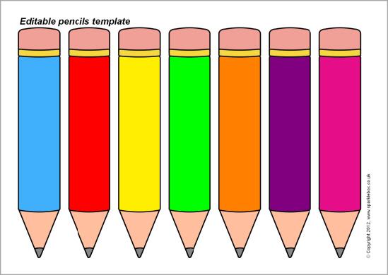 549x390 Templates Clipart Pencil