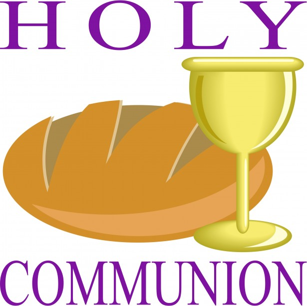 615x613 Communion Bulletin Cover Clipart