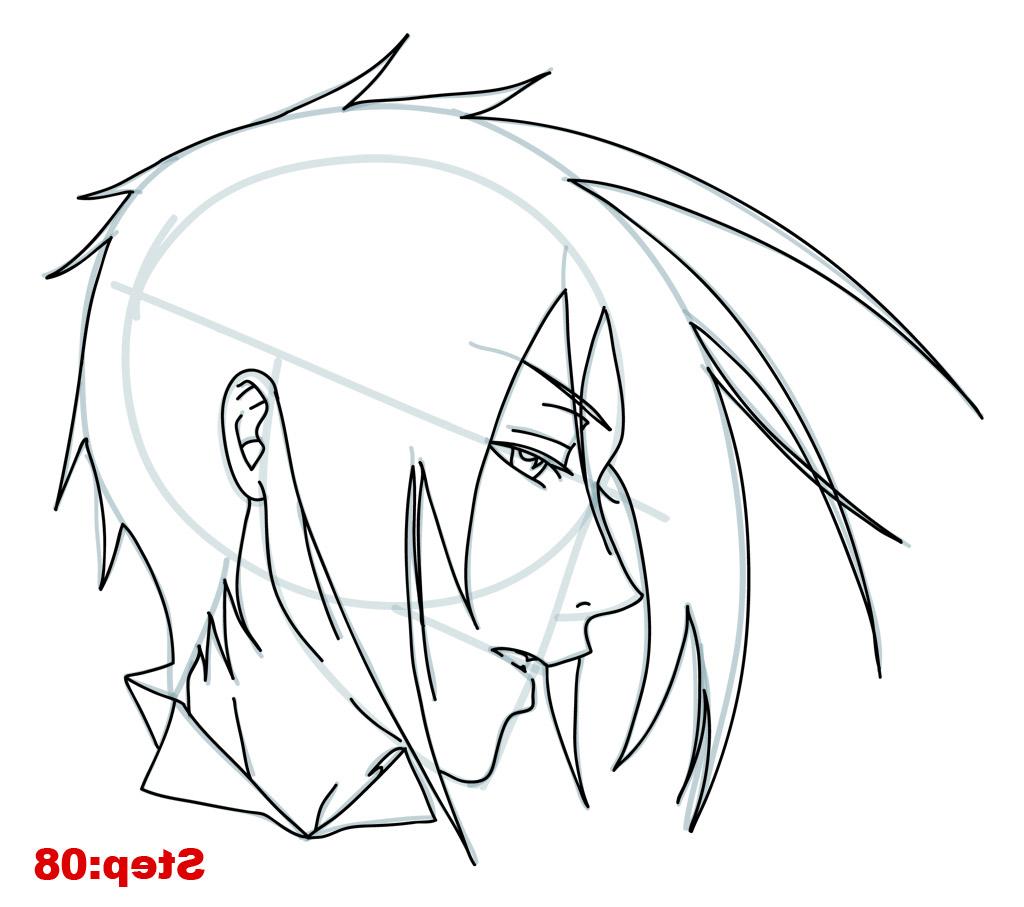 1024x907 easy drawing of anime how to draw dark sakura step step naruto