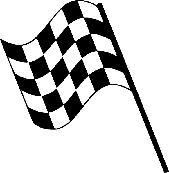 582x597 Checkered Flag Clip Art Free Vector In Open Office Drawing Svg 2
