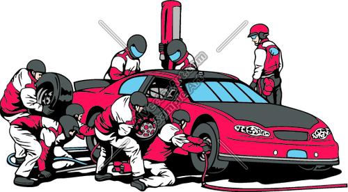 500x276 Race Car Clipart Pit Crew