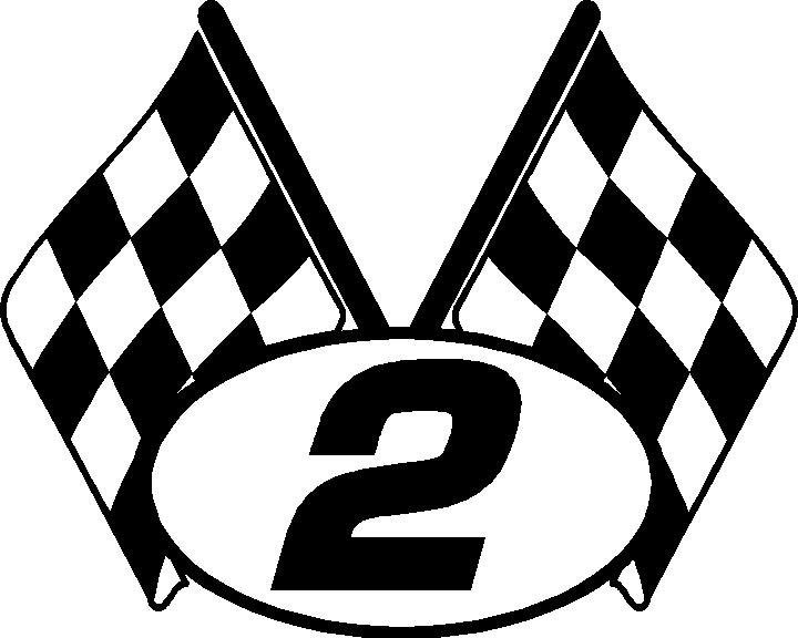 720x576 Nascar Flags Clipart