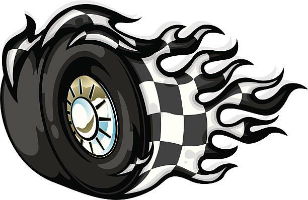 612x398 Race Car Tire Clipart Collection