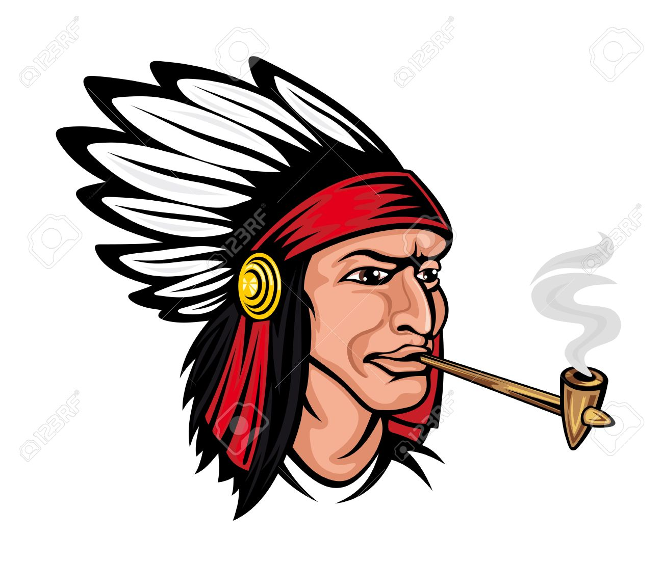 1300x1105 Images Native American Cartoon