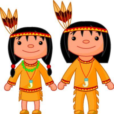 400x400 Cartoon Native American Clipart