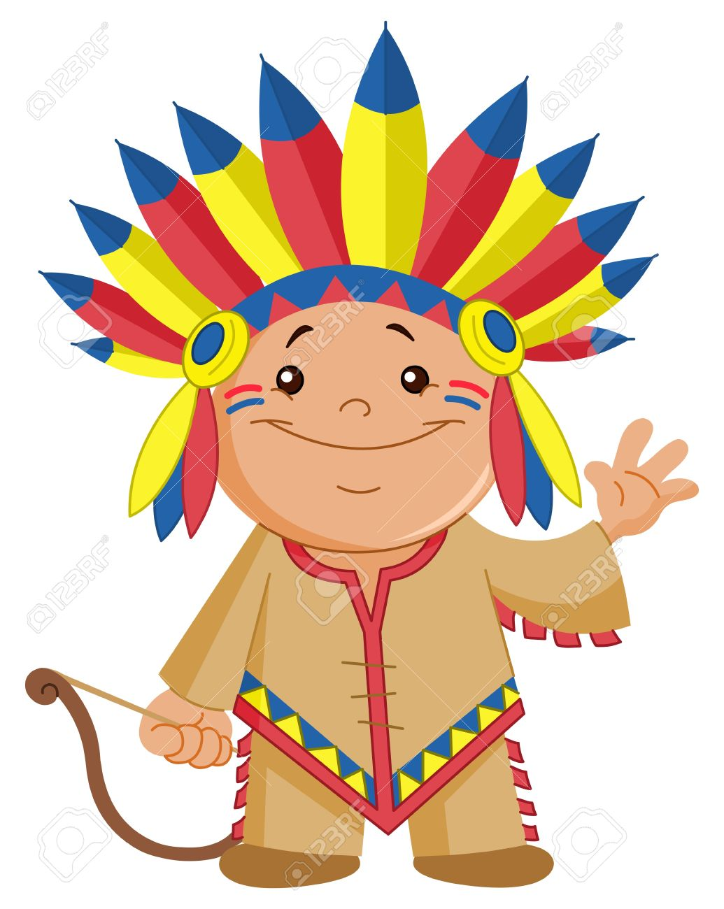 1035x1300 America Clipart Indian Kid