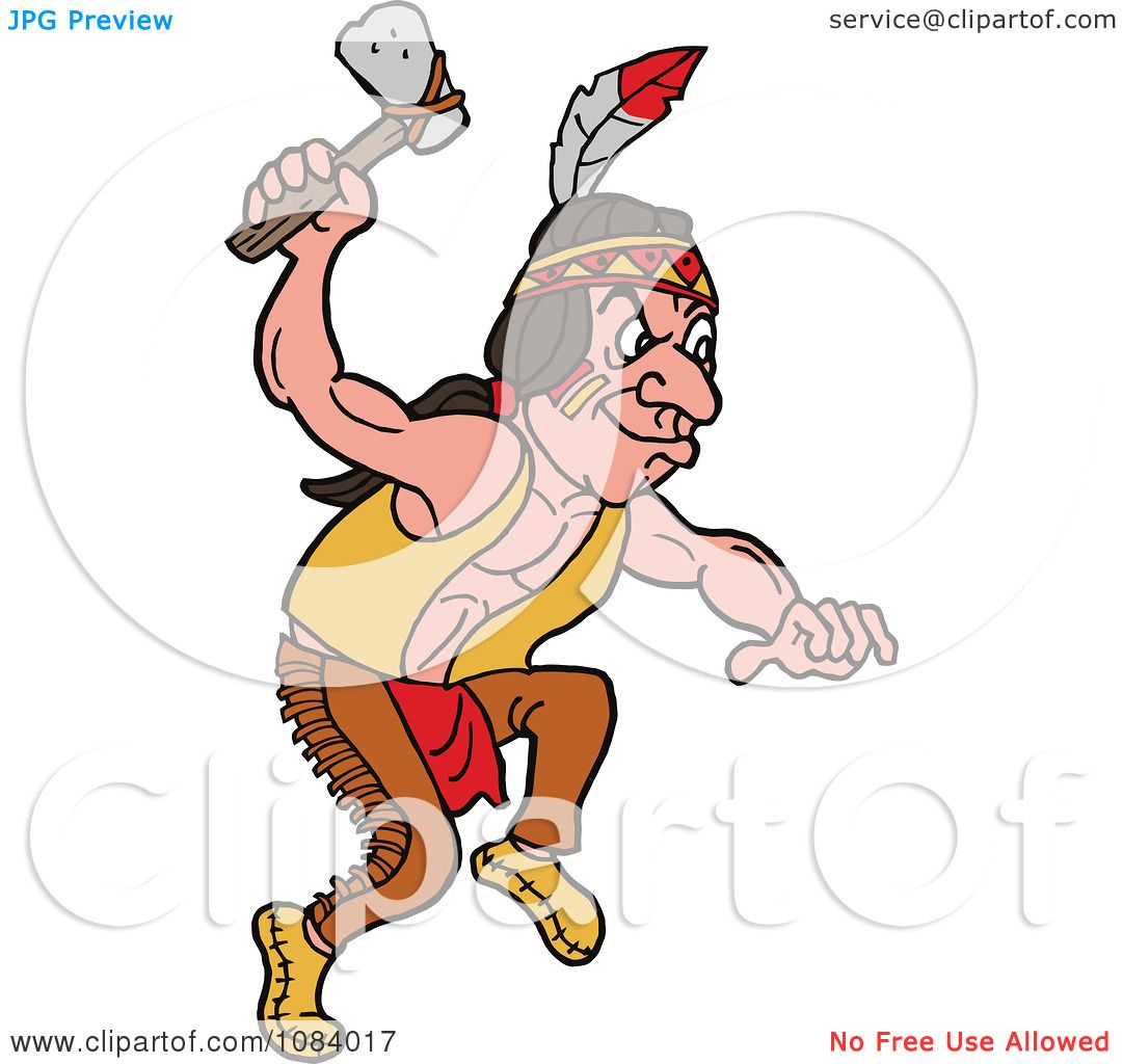 1080x1024 Native American Clipart Axe