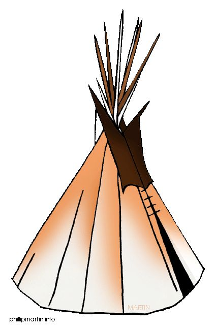 423x648 Native Americans Clipart
