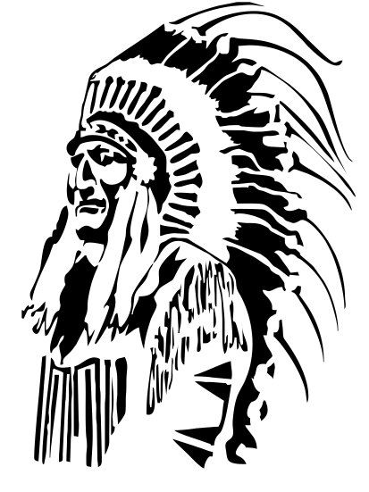 413x551 64 Best Stencil Native Americans Images Cutting
