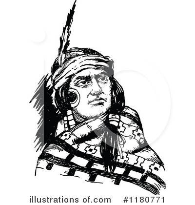 400x420 Native American Clipart
