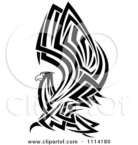 450x470 Native American Eagle Clipart