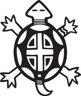 263x310 Native American Turtle Clipart