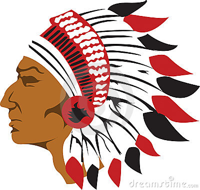 400x381 Free Clipart Indian Chief