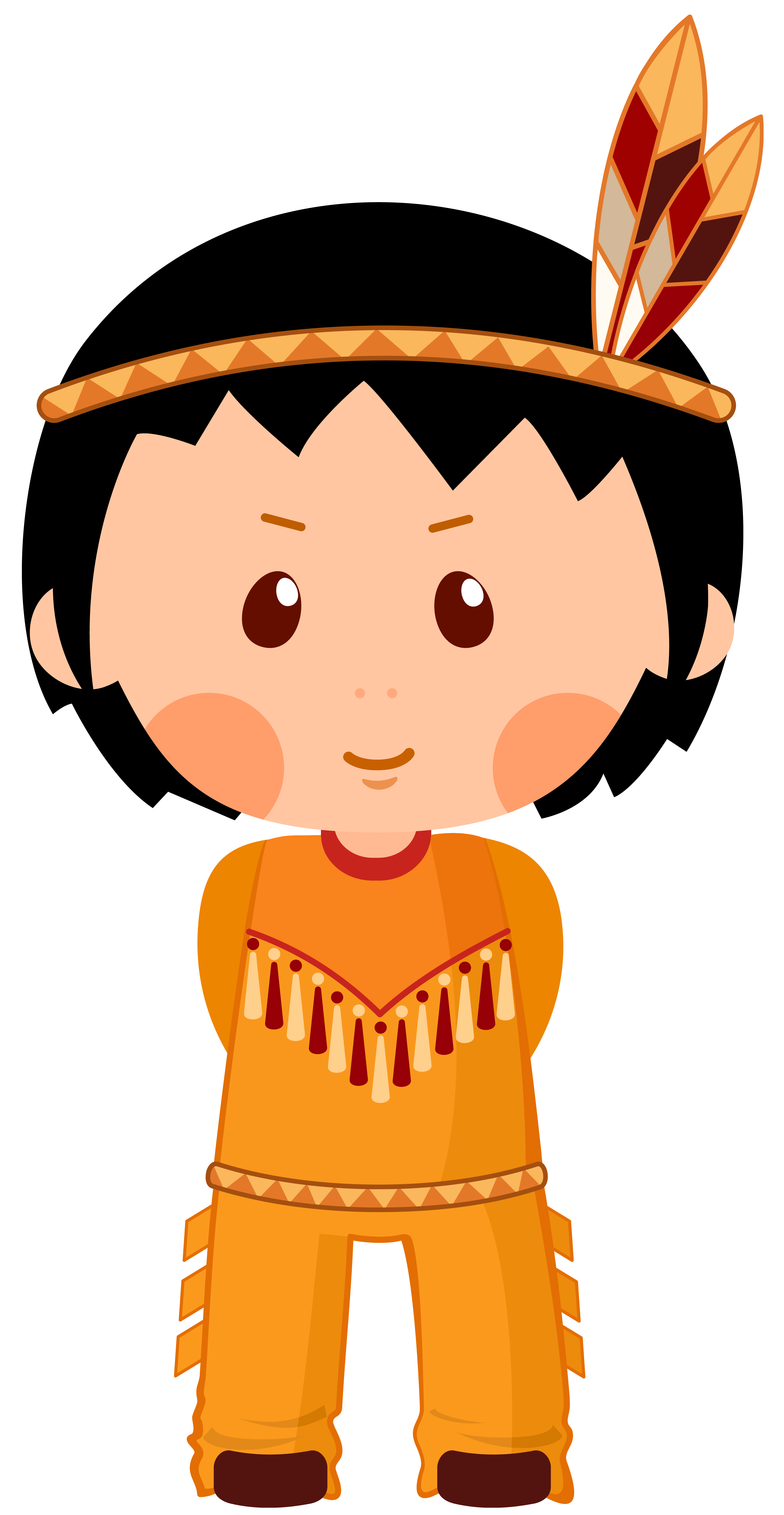 3224x6228 Native American Clipart Group