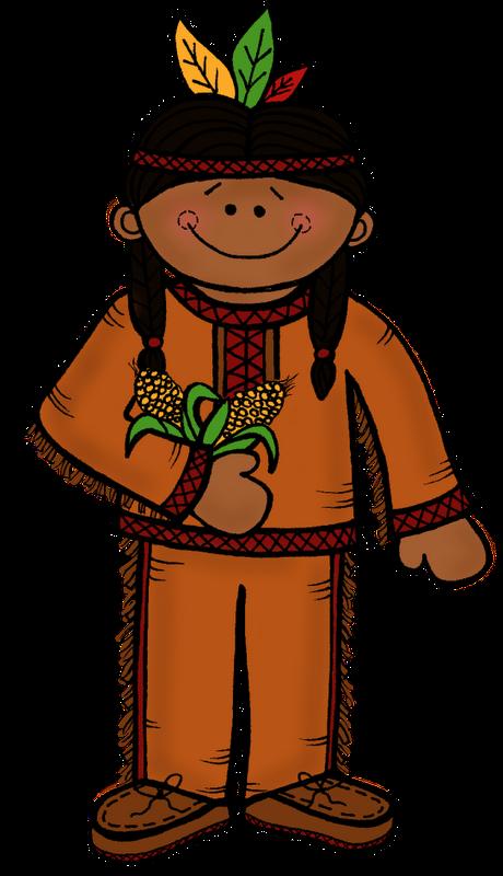 460x800 Native American Kids Clipart