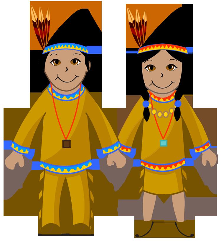 750x816 Native American Clipart Cute