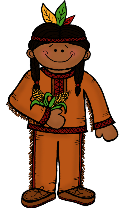 460x800 Native American Thanksgiving Clipart Kid