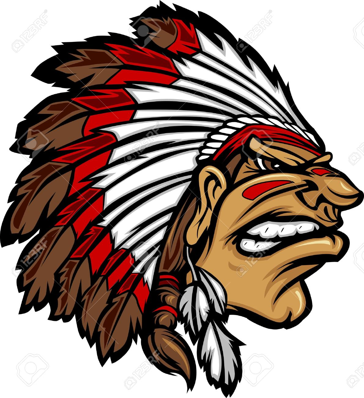 1191x1300 Free clipart indian chief