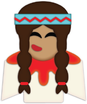 340x406 Native American Clipart Indian Headband