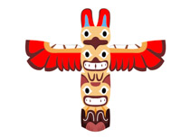 210x153 American Indian Clipart