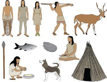 350x267 Archaic Native Americans Clip Art By Chikabee Teachers Pay Teachers