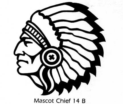432x367 Indian Head Clipart
