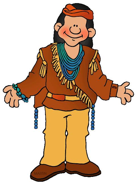 487x648 Native American Man Clipart