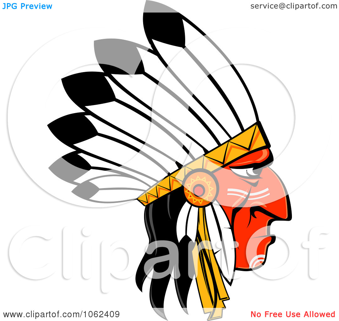 1080x1024 Native American Clipart Head Dress