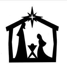 236x236 Nativity Silhouette Clip Art Children's Church