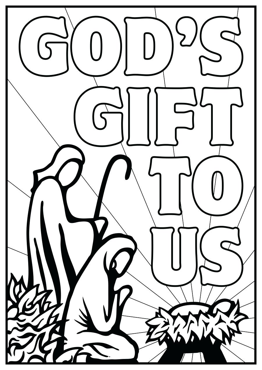 900x1273 Free Nativity Coloring Pages 84 Various Printable Story Nativity