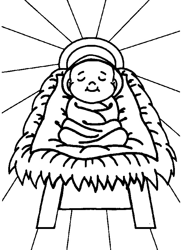 593x819 free printable nativity coloring pages for kids