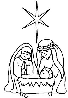 221x320 Printable Nativity Scene Coloring Pages For Kids Cool2bkids