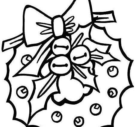 454x425 Free Printable Christmas Coloring Pages For Preschool Preschool