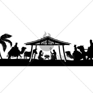 325x325 Christmas Nativity Scene · GL Stock Images