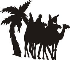 236x204 free silhoutte nativity scene patterns Christmas Nativity