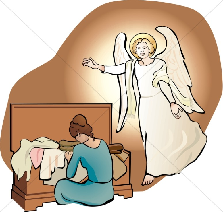 776x739 Kids carrying jesus mary and joseph clipart